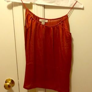 Tucker for target textured cami